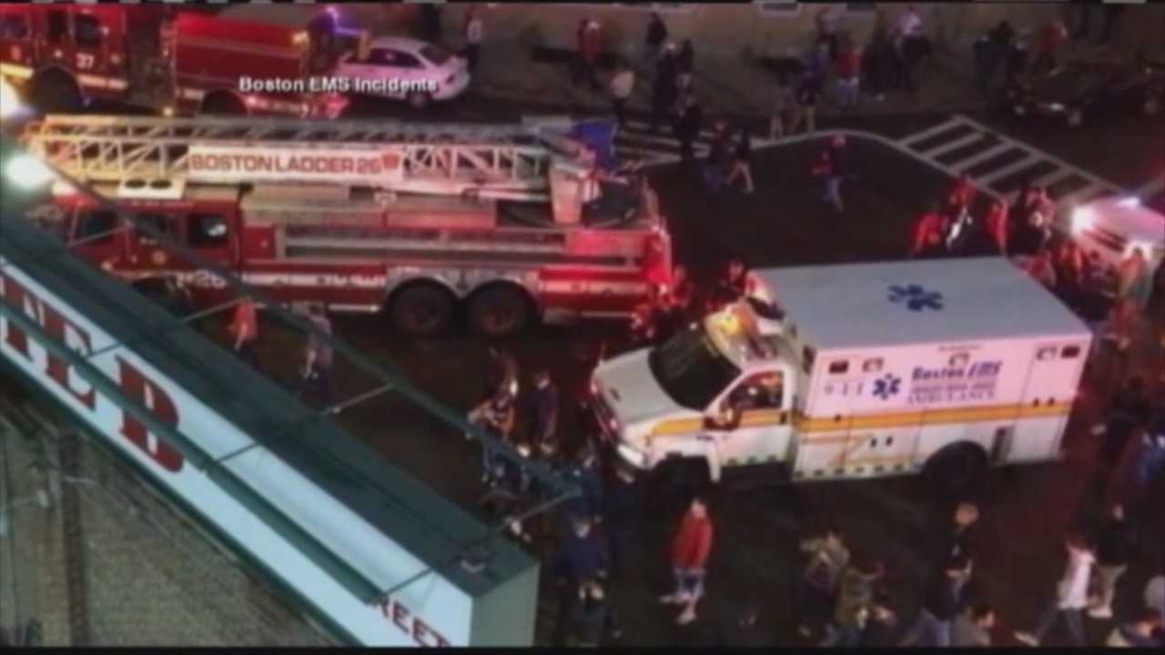 Woman seriously hurt in Fenway elevator fall