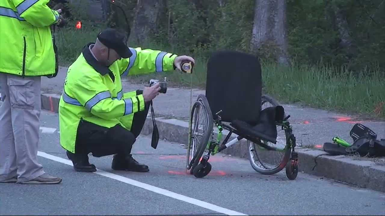 Man charged after crash kills victim in wheelchair