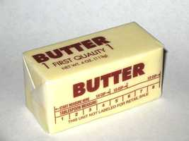 American consumer 4.9 pounds of butter a year, according to the Census Bureau.