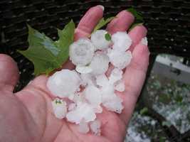Storm images from Rutland, VT