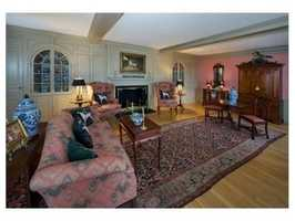 The home has more than 7,300 square feet of living space.