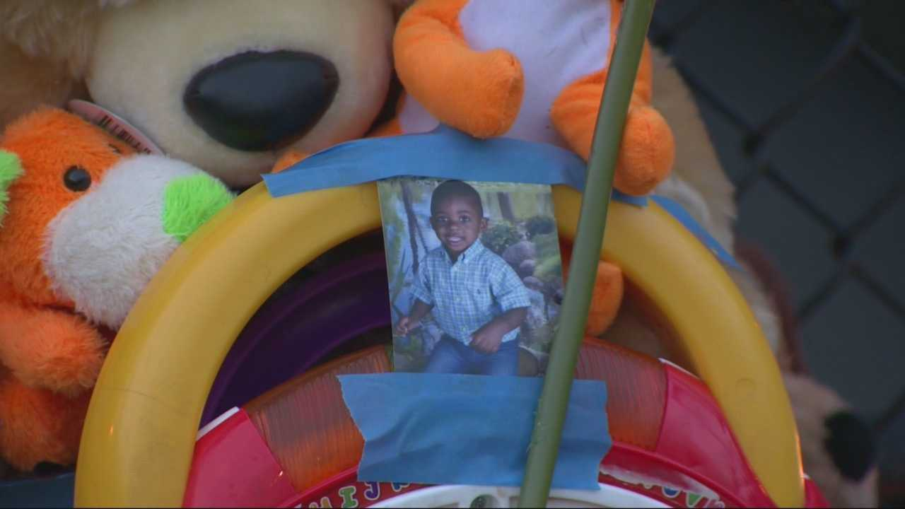 Investigators review security tapes after tot falls to death