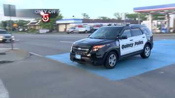 Team 5 Investigates was there as Matanov was brought to the Quincy Police Department.