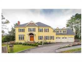 8 Lathrop Road is on the market in Wellesley for $2.4 million.