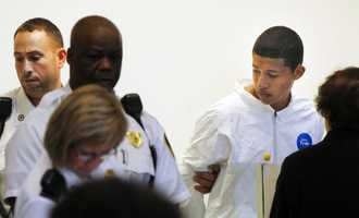 Chism allegedly brought a box cutter to school and then followed Ritzer into a bathroom after school where he raped and murdered her.