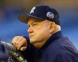 Don Zimmer was a popular fixture in professional baseball for 66 years as a manager, player, coach and executive. Zimmer played for the only Brooklyn Dodgers team to win the World Series, played for the original New York Mets, nearly managed the Boston Red Sox to a championship in the 1970s and was Joe Torre's right-hand man with the New York Yankees' most recent dynasty. (January 17, 1931 — June 4, 2014)