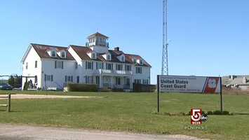 The Visitor Center is next door to the Coast Guard Station.