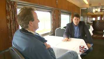 Realizing a childhood passion, Chris Podgurski, bought the train, in 2006.
