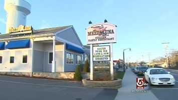 On Main Street in Buzzards Bay, is, family owned, Mezza Luna's Italian Restaurant.