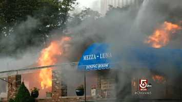 In 2007, Mezza Luna suffered a devastating fire.