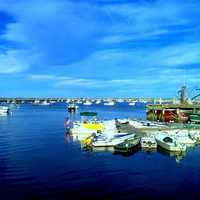 "This is the view of Plymouth harbor you'll enjoy while eating clam chowder in a bread bowl at The CabbyShack. The chowder was featured on a Food Network segment called ""The Best Thing I Ever Ate - Guilty Pleasures."""
