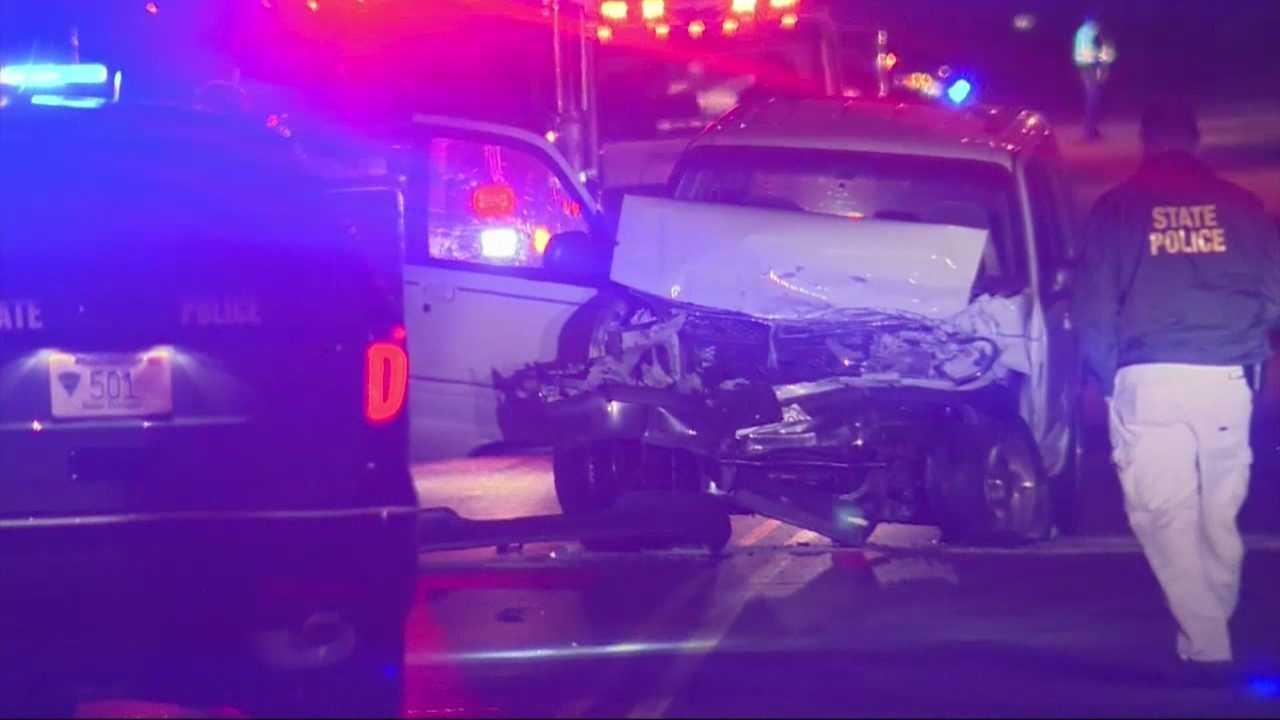 3-year-old boy killed in overnight crash