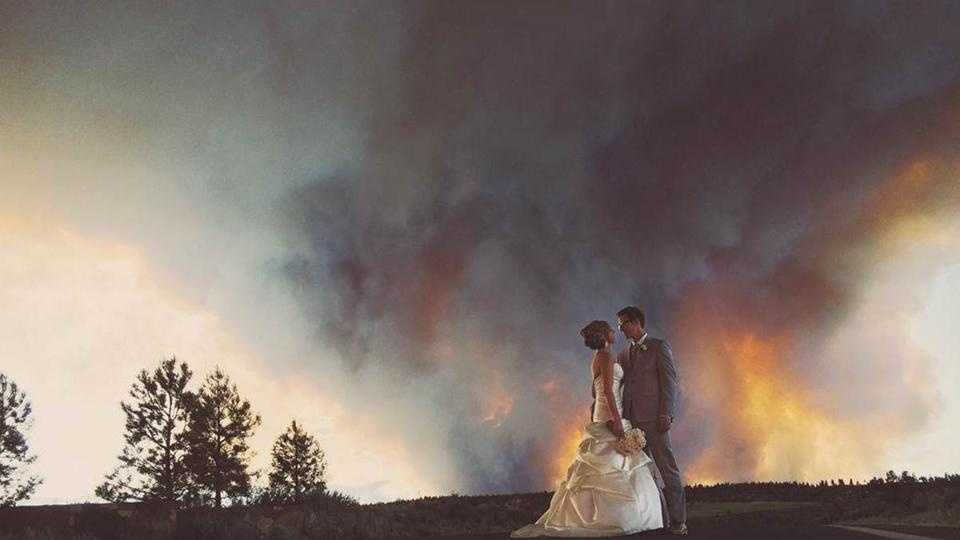 Oregon Wedding Wildfire 6.10.14