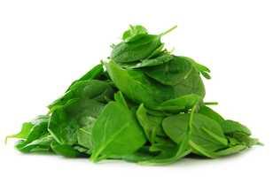 #5 Spinach: 86.43 nutrient density score.