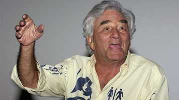 """2011: Actor Peter Falk, best known for his role as Lt. Columbo on the television series """"Columbo,"""" dies at age 83 in Beverly Hills, California, from cardiorespiratory arrest, with pneumonia and Alzheimer's disease as underlying causes. He also appeared in movies such as """"The Princess Bride,"""" """"The Great Race"""" and """"Next,"""" and many television guest roles. He was nominated for an Academy Award twice (for 1960's """"Murder, Inc."""" and 1961's """"Pocketful of Miracles""""), and won the Emmy Award on five occasions (four for """"Columbo"""") and the Golden Globe Award once."""