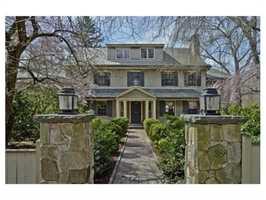 388 Warren St. is on the market in Brookline for $3.8 million.