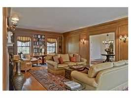 Gracious reception hall centers the home and opens to all gracious first floor living spaces.