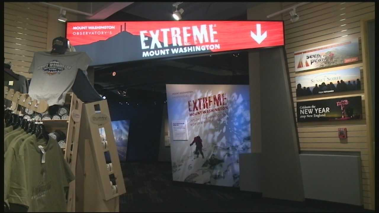 Revamped Mt. Washington museum shows extreme weather