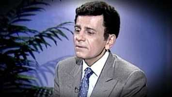 "Casey Kasem, the smooth-voiced radio broadcaster who became the king of the top 40 countdown, died at age 82.  Kasem's ""American Top 40"" began on July 4, 1970, in Los Angeles. The No. 1 song on his list then was ""Mama Told Me Not to Come,"" by Three Dog Night. The show continued in varying forms - and for varying syndicators - until his retirement in 2009. In his signoff, he would tell viewers: ""And don't forget: keep your feet on the ground and keep reaching for the stars."" (April 27, 1932-June 15, 2014)"