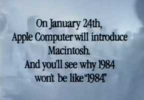 Apple introduces the Mac