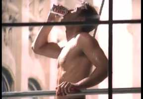 The Window Washer. Diet Coke