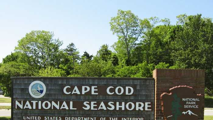 Cape Cod National Seashore sign