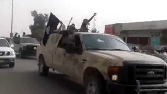 ISIS in Iraq in truck