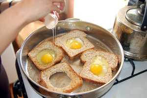 Eggs can be contaminated while still inside the chicken, if the hen is infected.