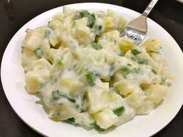 The most common culprit is potato salad, which people often don't store properly.
