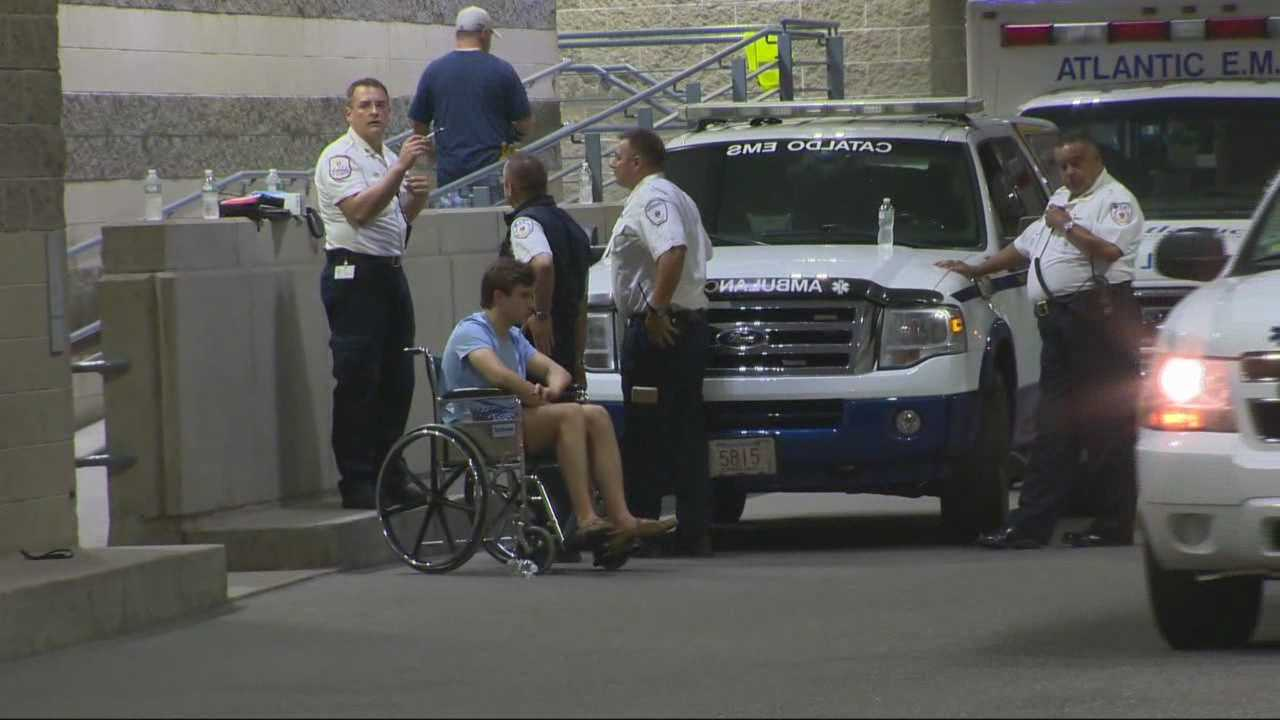 Dozens sent to hospital after TD Garden concert