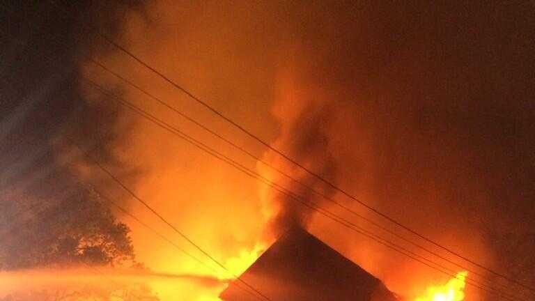 Bridgewater fire 7.1