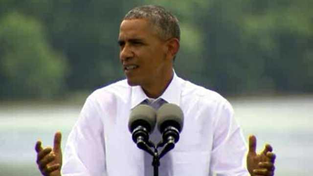 Barack Obama July 2