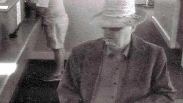 John Slater Bank Robber 7.2.14