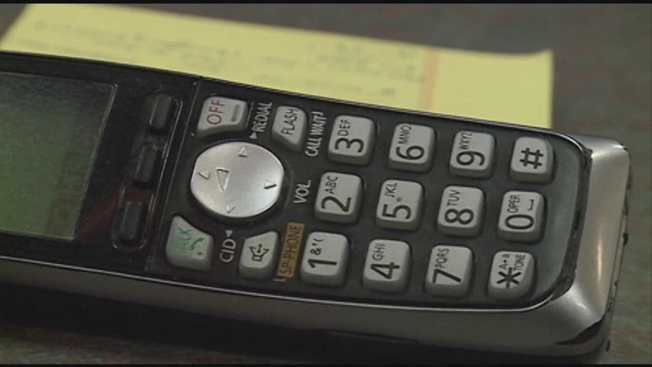 Police used in phone scam