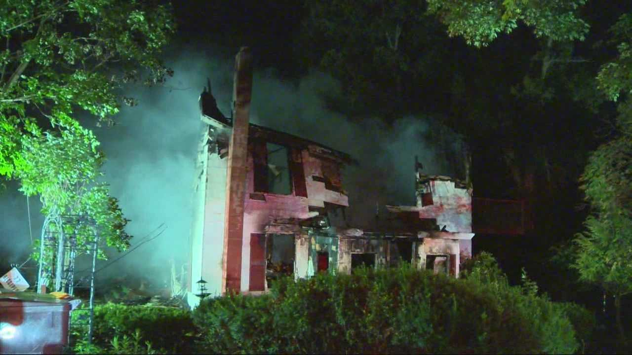 Fire, explosions heavily damage Lancaster home
