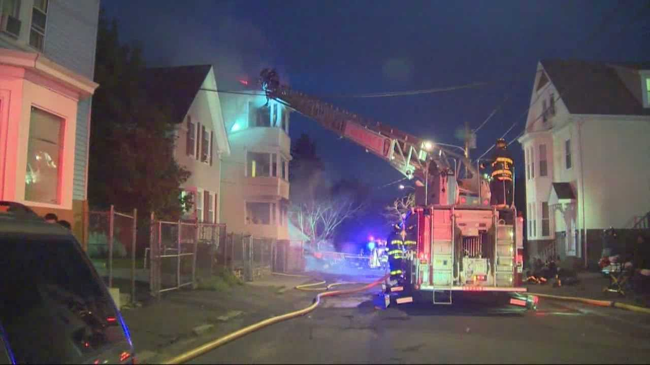 1 hurt in overnight fire