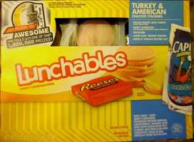 7. Lunchables: Calories, fat and sugar do vary depending on the choice, but some have more sugar than your child should consume all day.