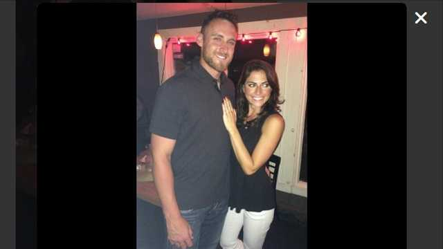 Will Middlebrooks, Jenny Dell engaged