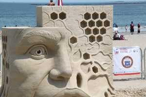 Probanza began sand sculpting in 1988 and has won many championships and awards