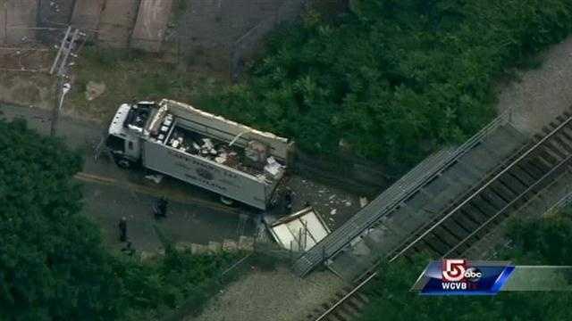 Milk truck crash  7.22