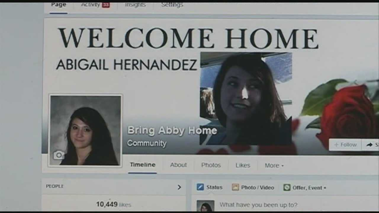 Social media used in search for missing teen