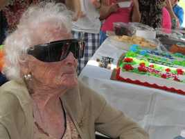 The state's oldest woman, and also the fifth oldest person in the world, turned 115.