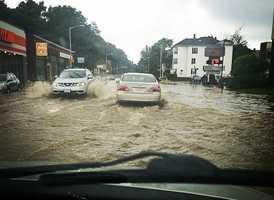 Photos Heavy Rain Lightning Strike Bay State