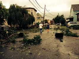 Damage in Revere