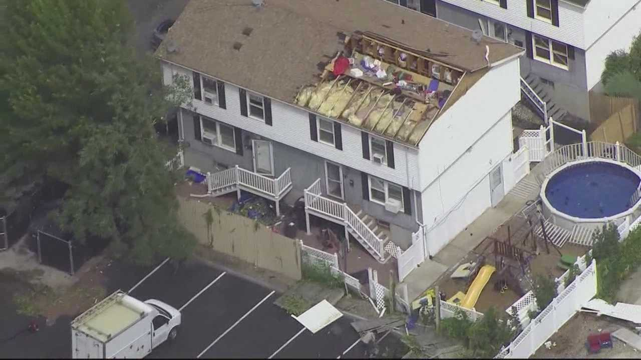 Cleanup under way after EF2 tornado rips through Revere