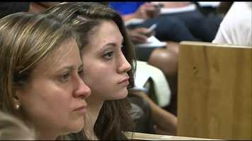 Abigail Hernandez and her mother Zenya were in court for the arraignment.