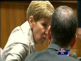 New Hampshire Assistant Attorney General Jane Young was present in court for the arraignment of Kibby.