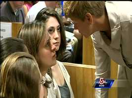 Hernandez and her mother showed little emotion in court during the proceeding.