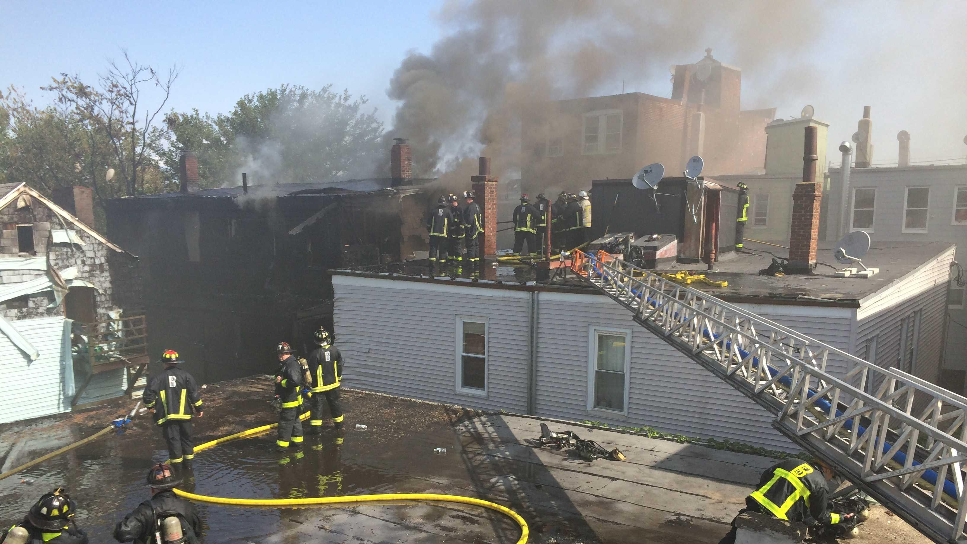 East Boston fire 7.30