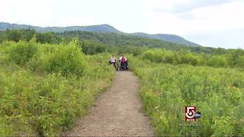 This trail is in Greenfield, and is part of the Crotched Mountain Rehabilitation Center.